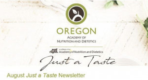 Oregon Academy of Nutrition and Dietetics